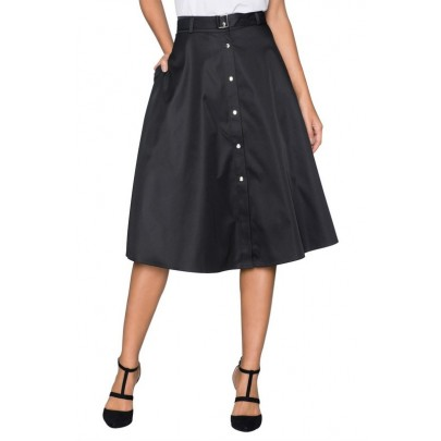 Dámská černá sukně