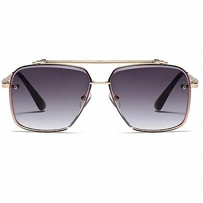 Pánské sluneční brýle Tatum černé gold