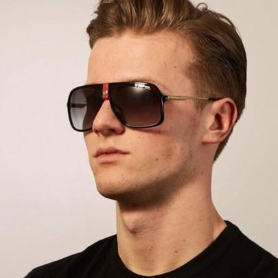 Pánské sluneční brýle Ricardo černé red
