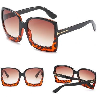 Dámské sluneční brýle Luciana hnědé leo