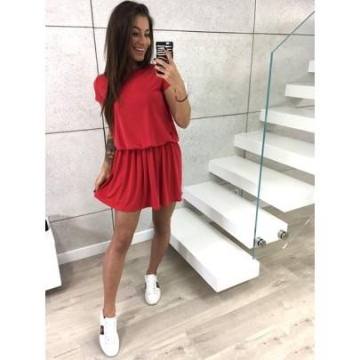 Dámské červené šaty Cinzia
