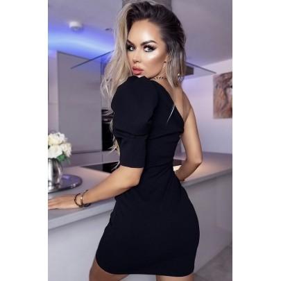 Dámské černé mini šaty CLARICE