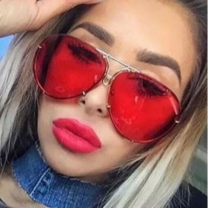 Dámské sluneční brýle Izabel červené