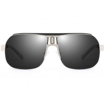 Polarizační sluneční brýle pilotky Roy stříbrné