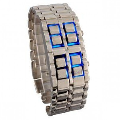 Binární LED hodinky SAMURAI