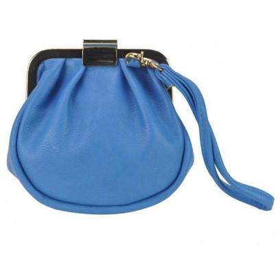 Dámská zajímavá peněženka - modrá