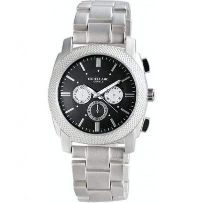 Pánské kovové hodinky Excellanc Black