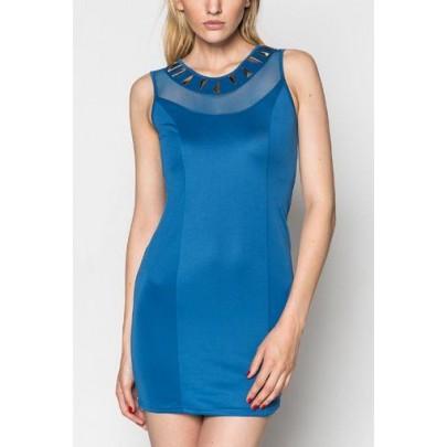Dámské šaty - modré Spike