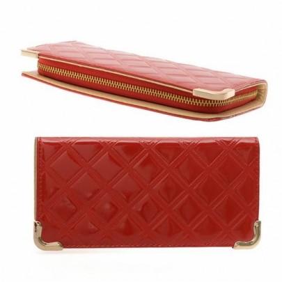 Stylová peněženka - červená