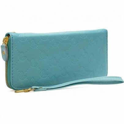 Stylová peněženka - modrá