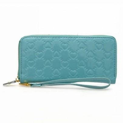 Trendy peněženka LOVE - modrá