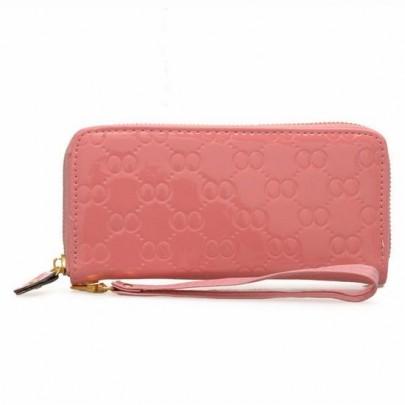 Módní peněženka - růžová