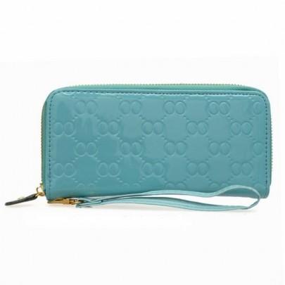 Módní peněženka - modrá