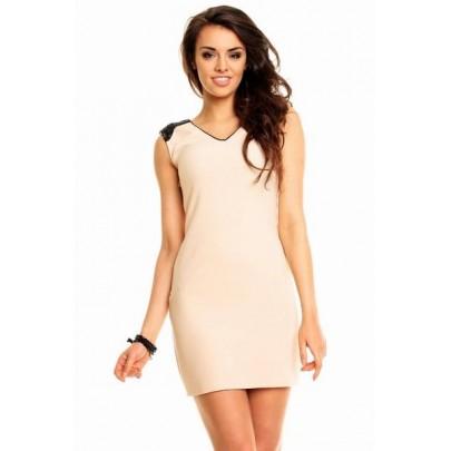 Béžové šaty Kimi