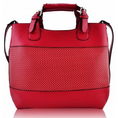 Stylová kabelka - červená