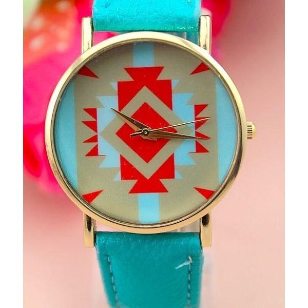 Dámské hodinky AZTEC - modré