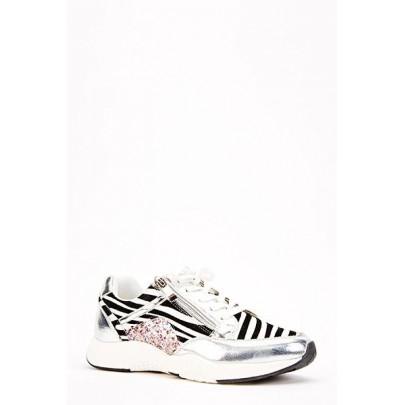 Dámské tenisky Sport zebra