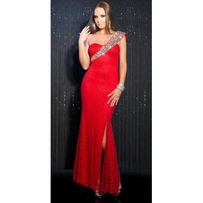Dámské společenské šaty Zainab - červené