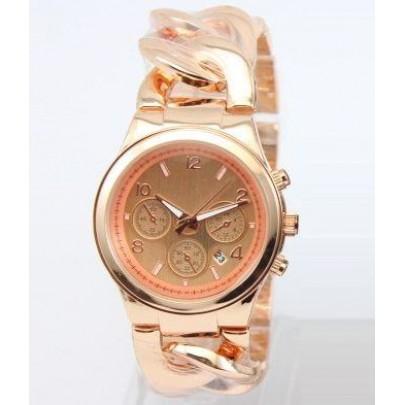 Dámské hodinky - náramek řetěz Rose Gold