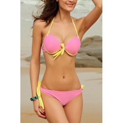Dámské plavky - light pink