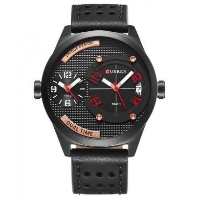 Pánské hodinky Curren Dual - černé