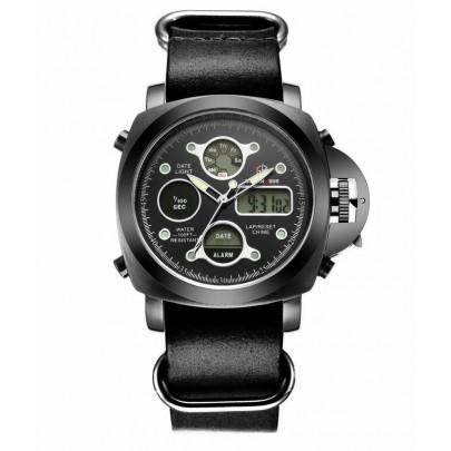Pánské hodinky GOLDEN HOUR - černé