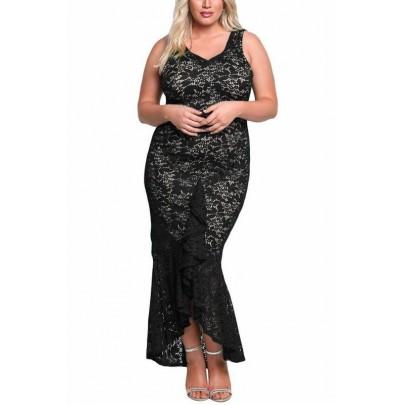 Plus size šaty Molly - černé