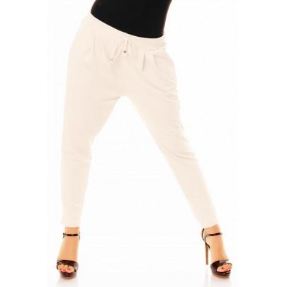 Dámské trendy kalhoty bílé