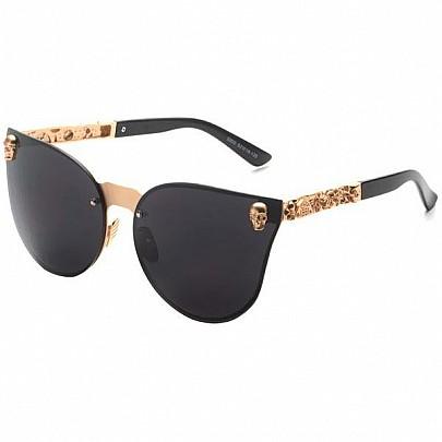 Dámské sluneční brýle Selena zlaté černé