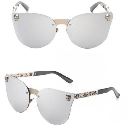 Dámské sluneční brýle Selena stříbrné