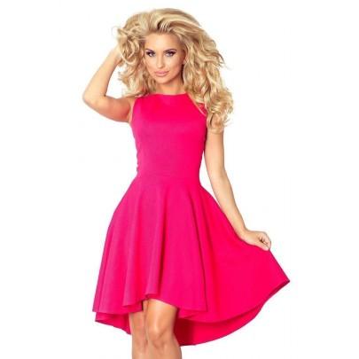 Atraktivní dámské šaty Nancy růžové v66-3
