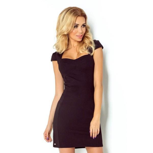 Atraktivní dámské šaty Belina černé 118-5