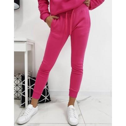 Dámské teplákové kalhoty růžové vuy0208