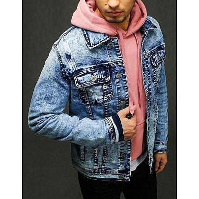 Pánská riflová bunda modrá tx3224