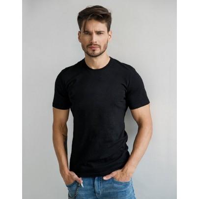 Pánské tričko černé rx2572