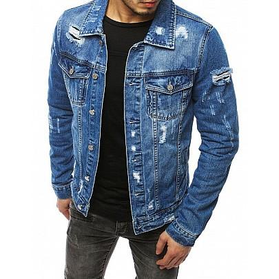Modrá pánská riflová bunda tx3171