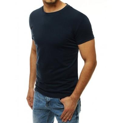 Pánské jednoduché modré tričko rx4186
