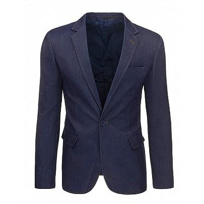 Pánské sako v tmavě modré barvě mx0271