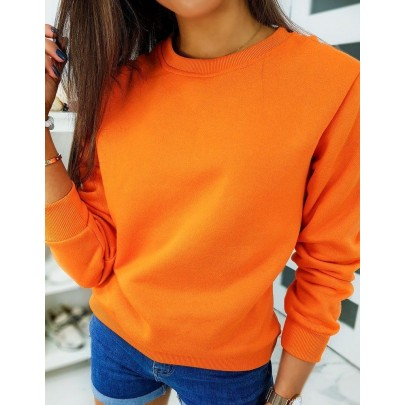 Dámská mikina oranžová by0317
