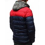 Atraktivní pánská zimní bunda - tmavě modrá tx2504