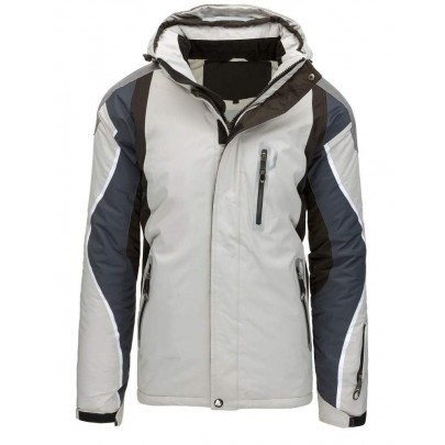 Sportovní zimní pánská bunda - šedá vtx1887