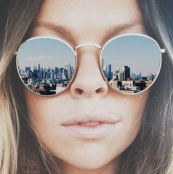 Dámské sluneční brýle Lilja stříbrné