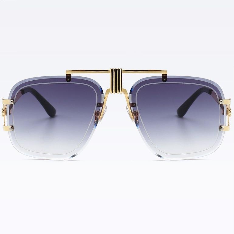 Pánské sluneční brýle Hardy černé zlaté