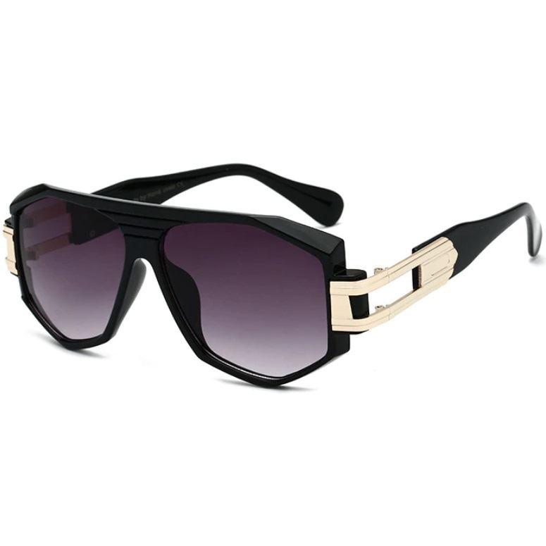 Unisex sluneční brýle Joshua černé zlaté
