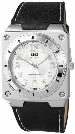 Pánské hodinky Q & Q White