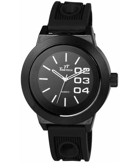 Pánské hodinky TimeTech Silico Black Future