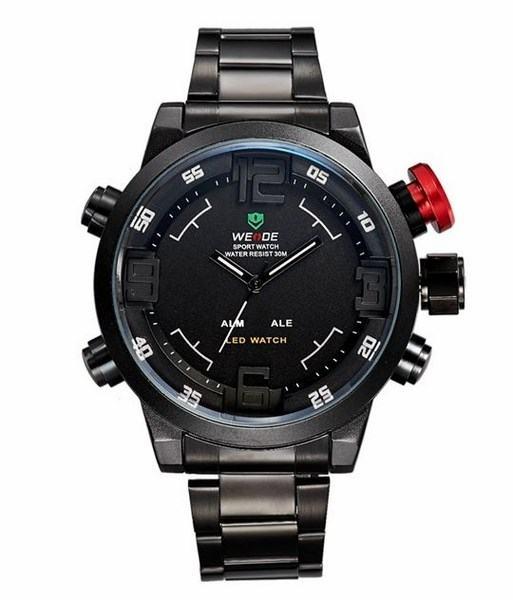 Pánské sportovní hodinky WE LED + dárkový box