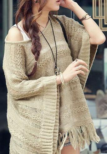 Dámský pulovr - béžový