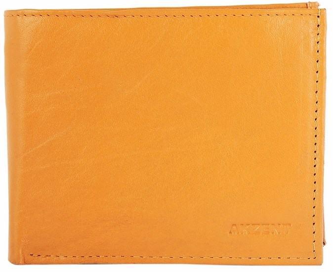 Pánská kožená peněženka - světlehnědá