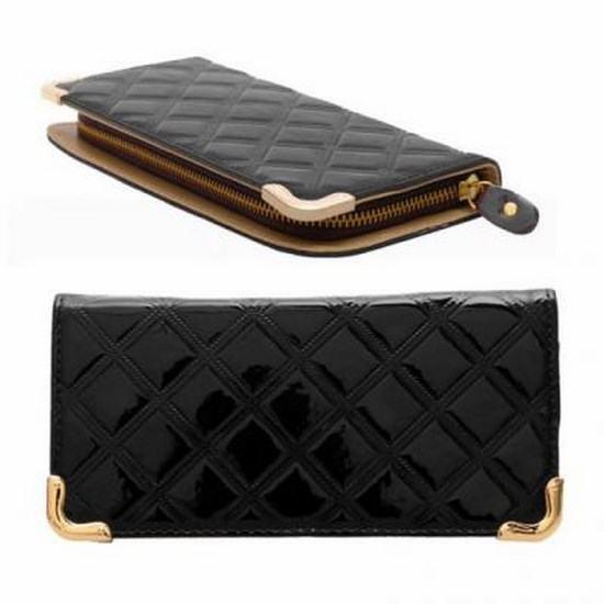 Stylová peněženka - černá